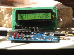 10MHz-Ref-Osc mit LCD-Module