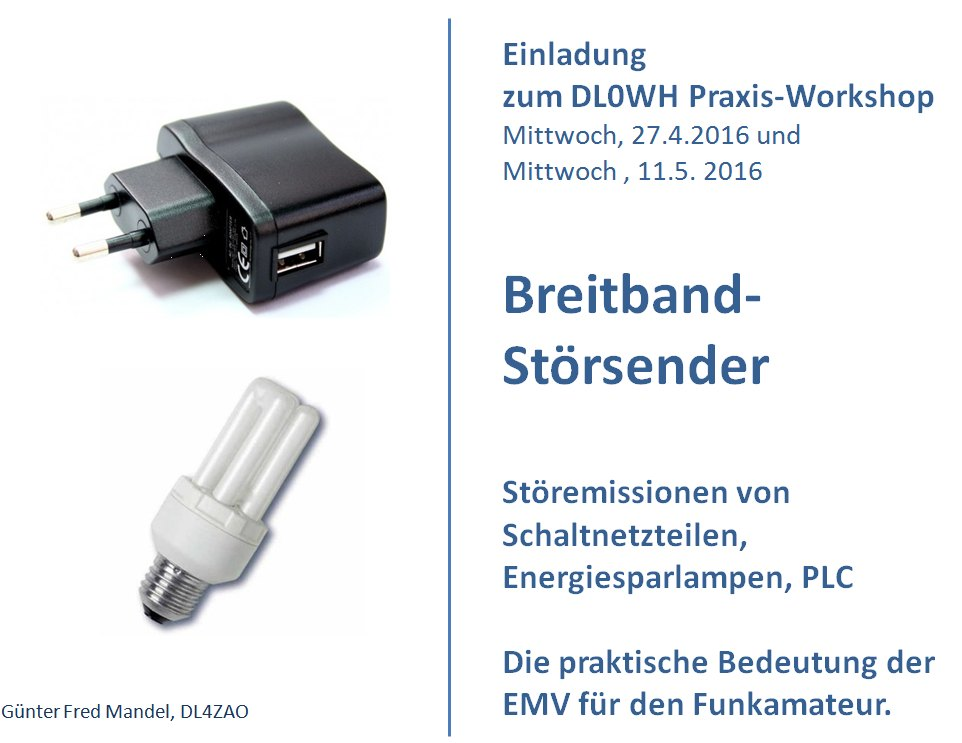 Einladung EMV Workshop